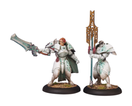 Retribution Dawnguard Sentinel Officer & Standard Bearer (2)